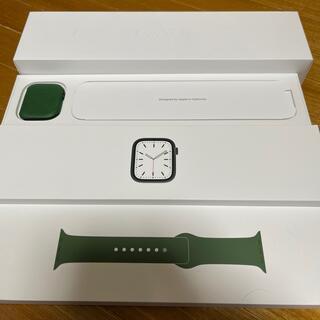 Apple Watch - Applewatch series7 GPS 45mm グリーン