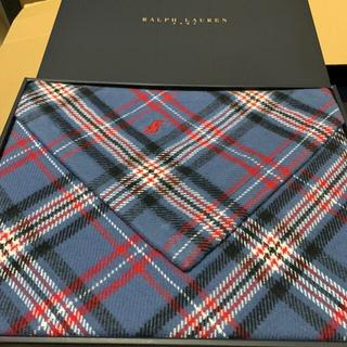 ポロラルフローレン(POLO RALPH LAUREN)のラルフローレン ハーフブランケット 箱付き(毛布)