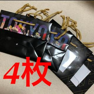 バンダイナムコエンターテインメント(BANDAI NAMCO Entertainment)の②東京リベンジャーズ namcoコラボ ノベルティ ショッパー 袋 紙袋 東リべ(その他)