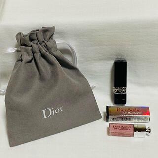 Christian Dior - Christian Dior ディオール リップ 口紅 巾着セット 新品未使用