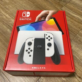 Nintendo Switch - 【新品未開封】新型Nintendo Switch本体 有機ELモデル ホワイト