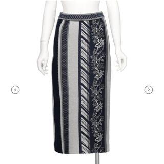 mame - mame kurogouchi スカート 今期 ジャガード ワンピース コート