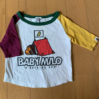アベイシングエイプ(A BATHING APE)のBAPE KIDS(Tシャツ/カットソー)