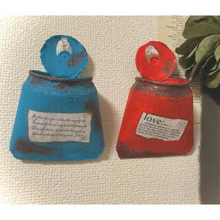 リメイク缶2個セット(プランター)