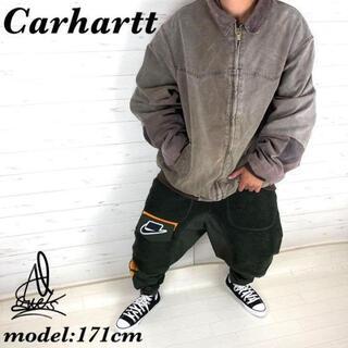 carhartt - 《古着好き必見》Carharttダックジャケット XL☆ライトブラウン 切返し