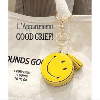 アパルトモンドゥーズィエムクラス(L'Appartement DEUXIEME CLASSE)のL'Appartement★GOOD GRIEF! Smile Compact(キーホルダー)