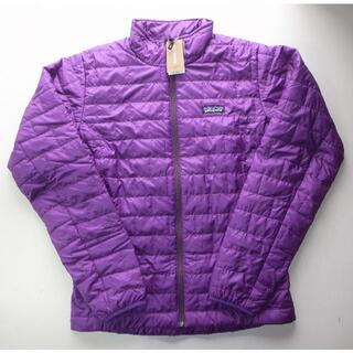パタゴニア(patagonia)のパタゴニア ナノ・パフ・ジャケット sizeS purple (ダウンジャケット)