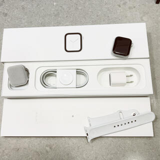 Apple Watch - apple watch 4 series 40mm silver (GPS)