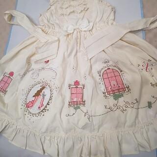 ベイビーザスターズシャインブライト(BABY,THE STARS SHINE BRIGHT)のベイビーザスターズシャインブライト初版ヴィンテージ刺繍ジャンパースカート(ひざ丈ワンピース)