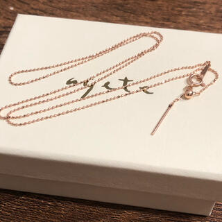 agete - 美品☆アガット K10 ピンクゴールド ネックレスチェーン