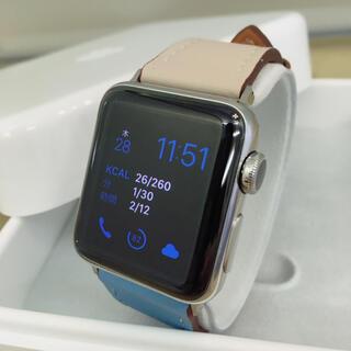 アップルウォッチ(Apple Watch)のApple Watch Series2 38mm ステンレス アップルウォッチ(腕時計)