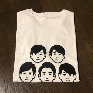 嵐 - 嵐 展覧会Tシャツ 白