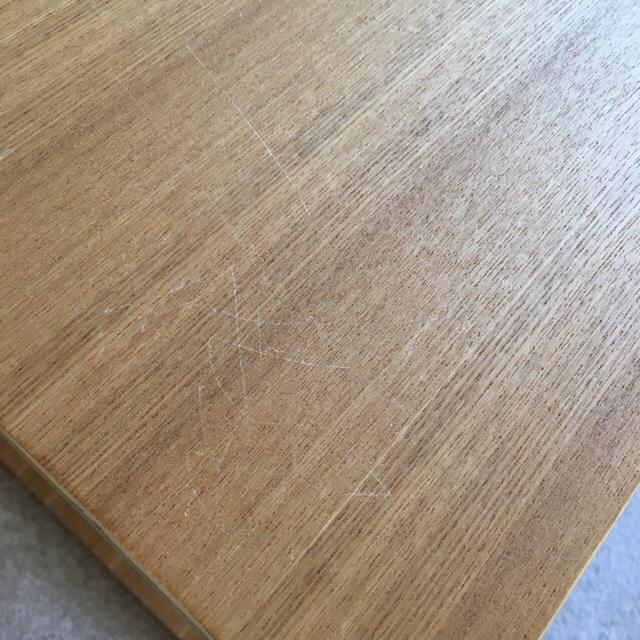 MUJI (無印良品)(ムジルシリョウヒン)のグランママ様 無印良品 コの字家具 テーブル&ネクタイハンガーセット インテリア/住まい/日用品の机/テーブル(ローテーブル)の商品写真