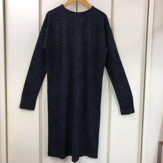 マリメッコ(marimekko)の新品同様 marimekko MOONA Jersey Dress(M)(ひざ丈ワンピース)