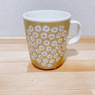 marimekko - マリメッコ プケッティ ベージュ マグカップ