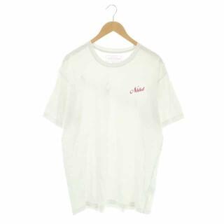 NEIGHBORHOOD - ネイバーフッド プリントTシャツ カットソー 半袖 プルオーバー XL 白 赤