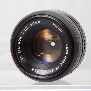 リコー(RICOH)のRICOH XR RIKENON 50mm F1.7 PENTAX(レンズ(単焦点))