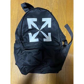 オフホワイト(OFF-WHITE)のOff-white Arrow backpack  kiii様専用(バッグパック/リュック)