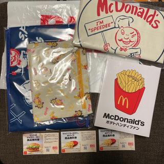 マクドナルド(マクドナルド)のマクドナルド 50周年福袋 BIG SMILE BAG (グッズ+無料券3枚)(ノベルティグッズ)