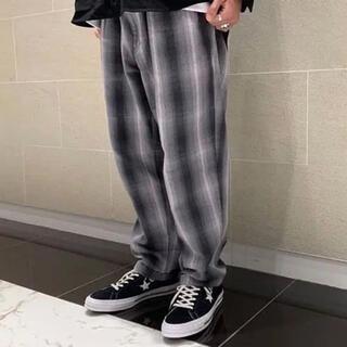 ビームス(BEAMS)の美品 SSZ peter pants チェック オンブレ グレー ワイド(その他)
