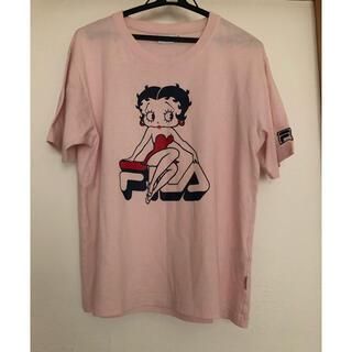 フィラ(FILA)のTシャツ フィラ   Mサイズ(Tシャツ(半袖/袖なし))