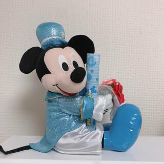 ミッキーマウス(ミッキーマウス)のミッキー ぬいぐるみ 祝電 電報(ぬいぐるみ)