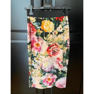 DOLCE&GABBANA - Dolce & Gabbana ドルガバ 花柄スカート