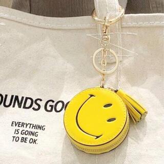 アパルトモンドゥーズィエムクラス(L'Appartement DEUXIEME CLASSE)の新品 アパルトモン GOOD GRIEF!  Smile Compact(キーホルダー)