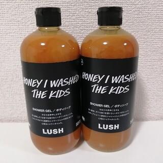 ラッシュ(LUSH)の新品未使用 LUSHみつばちマーチ シャワージェル SPまとめ売りラッシュ(ボディソープ/石鹸)