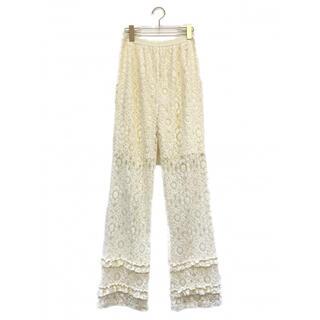 ハニーミーハニー(Honey mi Honey)のHoneymihoney lace frill straight pants(その他)