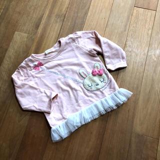 ニットプランナー(KP)のKP♡ミミちゃんカットソー80(Tシャツ)