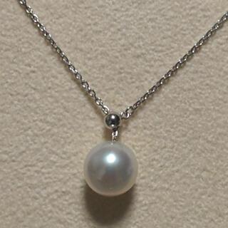 タサキ(TASAKI)の田崎真珠 タサキ TASAKI K18WG アコヤ真珠 ネックレス(ネックレス)
