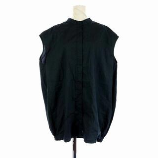ジャーナルスタンダード(JOURNAL STANDARD)のジャーナルスタンダードレサージュ 21SS ブラウス シャツ ノースリーブ 黒(シャツ/ブラウス(半袖/袖なし))