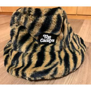 Candy Stripper - ZEBRA ファーバケットハット🦓完売品。