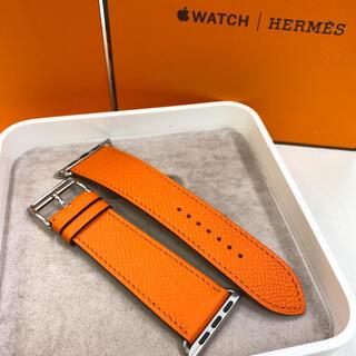 Apple Watch - HERMES アップルウォッチ レザーベルト フー Apple Watch