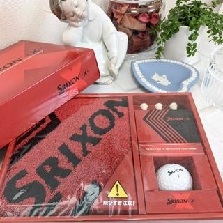 Srixon - SRIXON ゴルフ タオル·ティー·ボール3点セット 新品