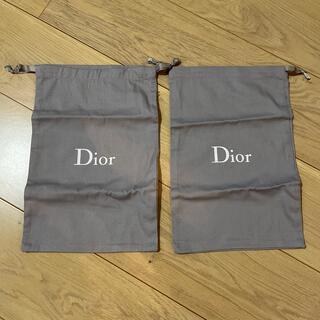 クリスチャンディオール(Christian Dior)のDior シューズ 保存袋2つセット(ショップ袋)