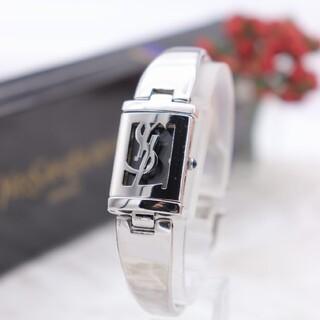 サンローラン(Saint Laurent)の正規品【新品電池】YvessaintLaurent/5421 バングル 蓋付き(腕時計)