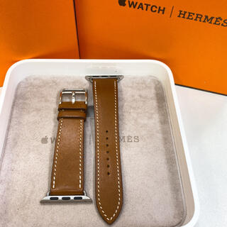 Apple Watch - アップルウォッチ エルメス Apple  Watch 38mm用 レザーベルト
