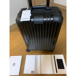 リモワ(RIMOWA)の週末限定値引き リモワ  キャビンS   アルミ製 純正保証付き ドイツ製(トラベルバッグ/スーツケース)