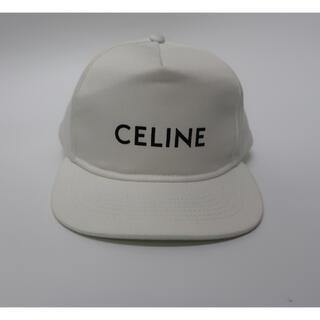 celine - CELINE セリーヌ ベースボール キャップ ホワイト 正規品