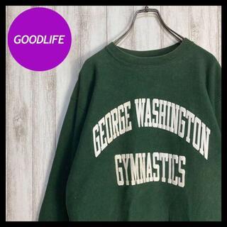 Champion - 【USA製90s】チャンピオン リバースウィーブ 刺繍タグ 希少 スウェット 緑