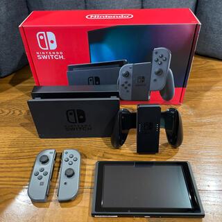 Nintendo Switch - ⭐︎美品☆Nintendo Switch 本体 JOY-CON グレー