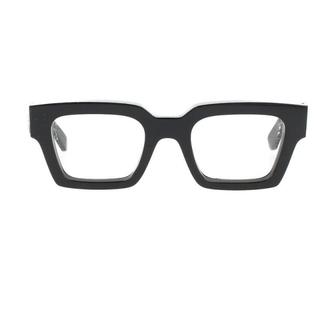 オフホワイト(OFF-WHITE)のオフホワイト OW40001U スクエアサングラス 50□22 145(サングラス/メガネ)