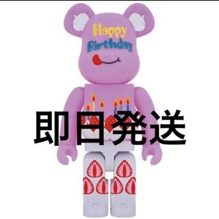 MEDICOM TOY - 即発送 be@rbrick グリーティング誕生日 plus 1000%