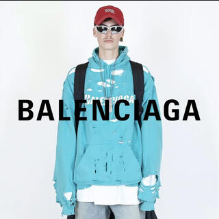 Balenciaga - BALENCIAGA CAPS DESTROYED フーディー