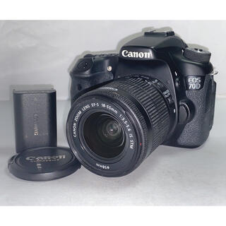 Canon - Canon eos 70D 18-55mm STM ボディ 本体 レンズキット