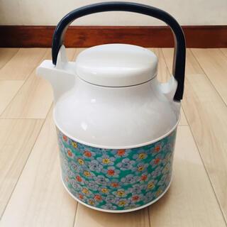 ゾウジルシ(象印)の花柄 魔法瓶 ボット 1ℓ(容器)