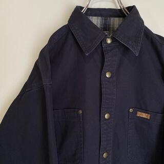 carhartt - カーハート 裏地チェック ダック ワークシャツ carhartt ジャケット