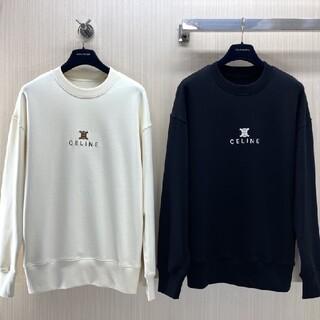 2枚千円引き スウェット☆CELINE1201トレーナー 長袖新品ユニセックス
